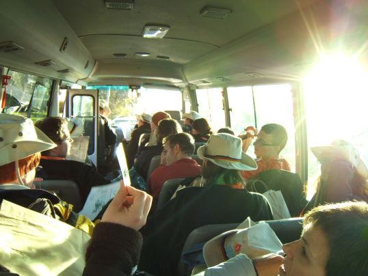 Im Bus nach Coolah