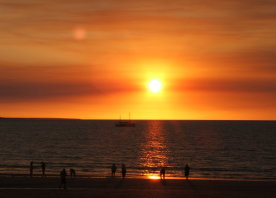Sonnenuntergang Ende