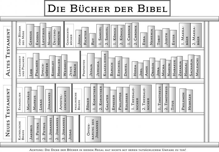 Bibelbücherregal