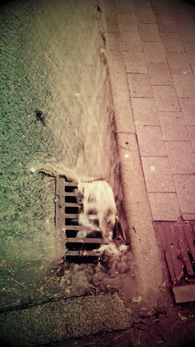 Gulli und Wasser