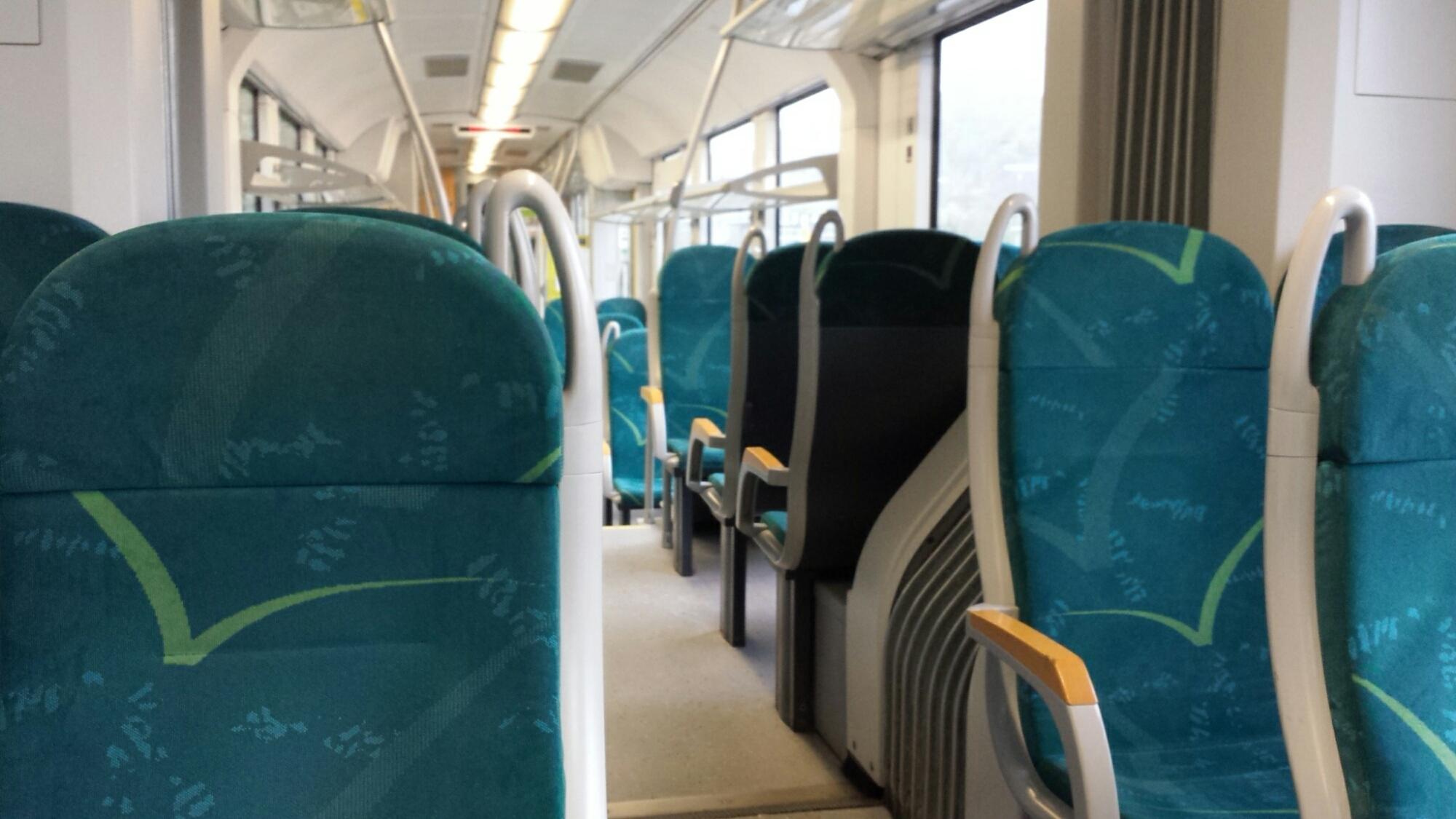 Leere Sitze - da wäre noch Platz gewesen.