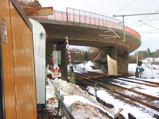 Die fertige Brücke