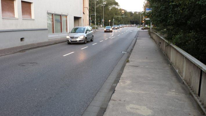 Idsteiner Straße Richtung Osten