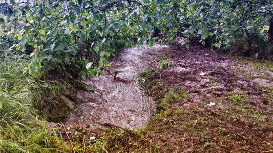 Nur mäßige Überschwemmungen in Niedernhausen