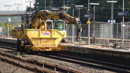 Umbau des Bahnhofs