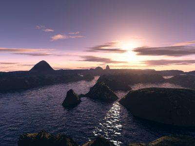 Terragen-Landschaften