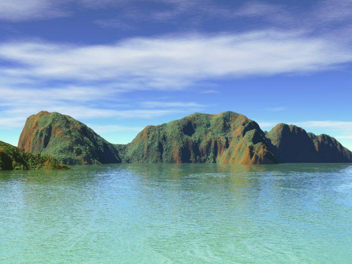 Warme Insel