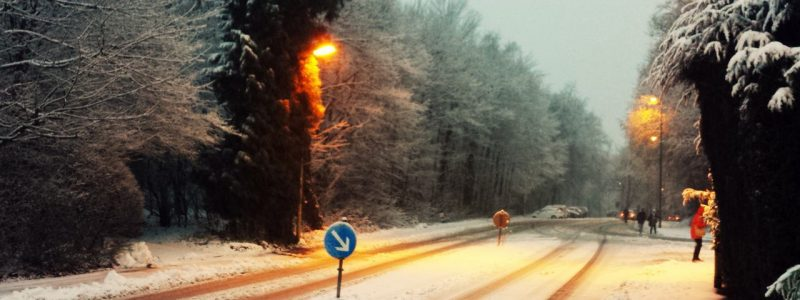Rutschiger Winter