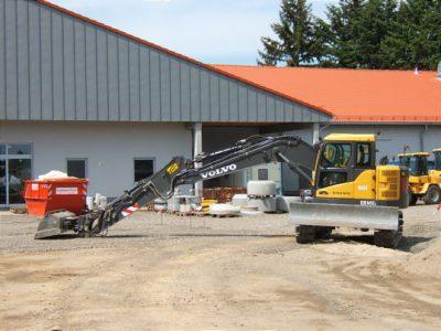 Baustellen-Blog 10. Mai2009