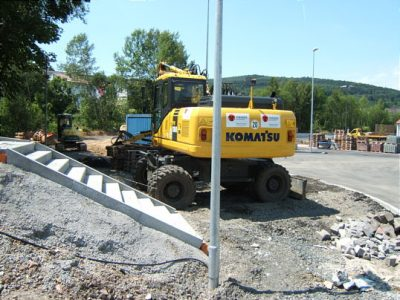 Baustellen-Blog 14. Juni2009