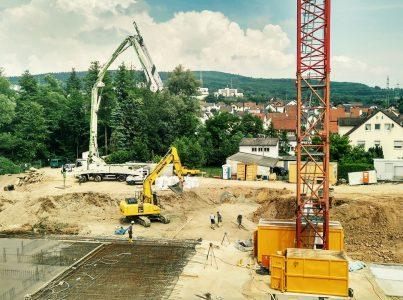 Austraße Wohn- und Geschäfts-Zentrum – Teil 4: Der Bau