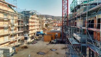 Austraße Bau 2019
