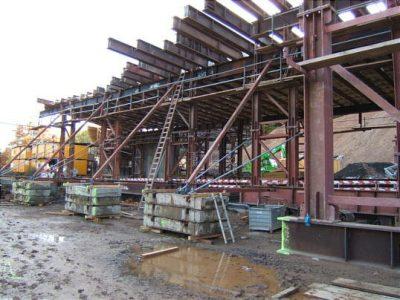Baustellen-Blog 25. Oktober 2009