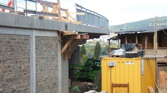 Baustellen-Blog 3. Oktober 2010